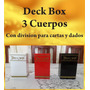 Vendo Deck Box 3 Cuerpos Yugioh Yu-gi-oh Cartas Caja Deckbox