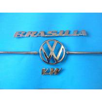 Emblemas Volkswagen Brasilia Kit !!