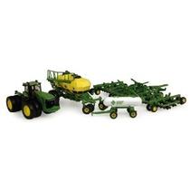 Ertl John Deere 9530 Tractor Y Aire Siembra Set 1:64 Escala