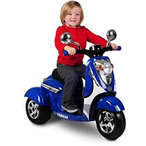 Juguete Scooter Yamaha Vino Retro-3 Rueda De 6 Voltios Con