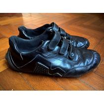 Zapatillas De Hombre Usadas Merrell De Cuero Talle 42 !