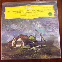 Franz Liszt/herbert Von Karajan, Les Preludes Lp 12´ Clasica