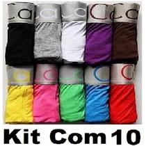 Kit Cueca Boxe 10 Calvin Klein Kit Com * Pronta Entrega*