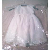 Vestido De Bautizo Para Niñas Totalmente Nuevo