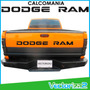 Calcomania Dodge Ram Compuerta Pick Up Somos Sitio Fisico