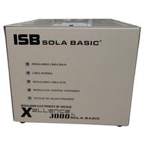 Regulador Marca Sola Basic Xellence 3000, 3 Kva,rayos X,