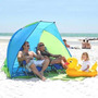 Carpa Playera Camping Tipo Paraviento Playa Con Bolso