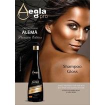 Shampoo Gloss Que Alisa - Realinhamento - Alemã Aegla Pro 1l