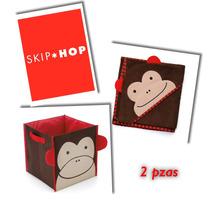 Skip Hop Paquete 2 Piezas Mono, Caja Y Toalla