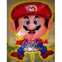 Globo Metalizado 60 Cm O 24 Pulgadas Mario Bros