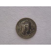 Se Vneden Tres Monedas De 50 Centavos De 1950