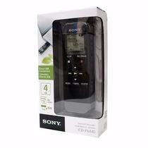 Gravador Voz Digital Sony Icd Px440 4gb Expansível Até 32gb