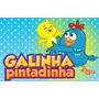 Dvd Galinha Pintadinha 1, 2, 3 E 4 + Brinde Frete Grátis