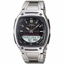 Relógio Masculino Anadigi Casio Standard Aw-81d-1avdf Novo
