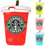 Funda Silicona Animada 3d Iphone 6s 6 Plus Vaso Starbucks