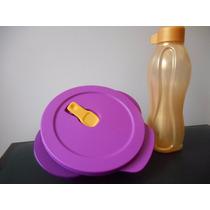 Marmita Tupperware Mais Ecotupper Dourada Microondas!