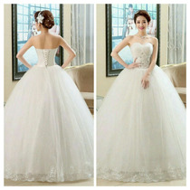 Vestido De Noiva Ou Debutante/15anos Com Saiote