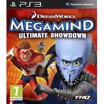 Jogo Ps3 Megamind Ultimate Showdown Original