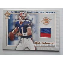 Rob Johnson Qb Tarj C 3 Colors Jsy Bills 2002