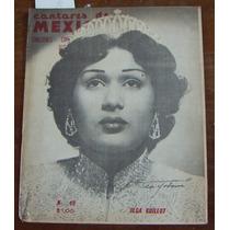 Revista Cantores De Mexico,olga Guillot En Portada