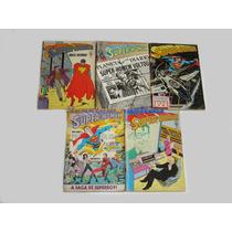 Lote 5 Revistas Super Homem Dc Comics 87~91 - Usadas