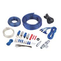 Kit Cables Cal 4 Para Amplificador. Bullz Audio Spak4bl