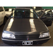 Peugeot 405 95 Grtf Full A/a D/h Gris 62000 Km Reales