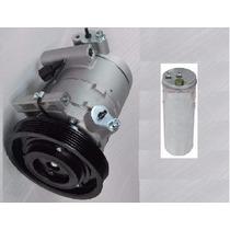 Compressor Nissan Frontier X-terra Mwm + Filtro Secador Novo
