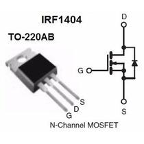 Transistor Mosfet Irf1404 Original - 10 Unidades