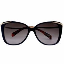 Óculos De Sol Euro Preto - Oc028eu/2p Original