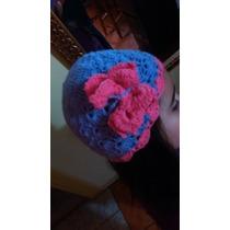 Gorro De Lana Tejido A Crochet