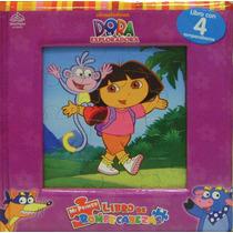 Mi Primer Libro De Rompecabezas: Dora La Exploradora