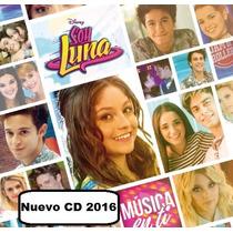 Pack 2 Cds Soy Luna - Musica En Ti + Soy Luna. Originales.-