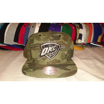 Gorra Snapback Mitchell And Ness Oklahoma City (okc) Thunder