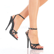 Zapatillas De Correas 15cm Tacon Fetish Sexy Domina-108