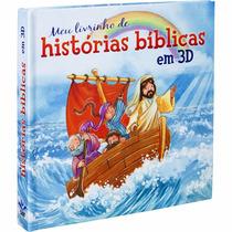 Livro Meu Livrinho De Histórias Bíblicas Em 3d