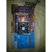 Tarjeta Madre Biostar U8668-d Socket 478 Cpu Intel P4 2.8ghz