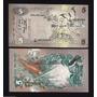 Ceylan (sri Lanka) Billete 5 Rupias 1979 Sin Circular Fauna
