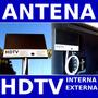 Antena Hdtv Digital Tv Uhf Hd 15 Dbi Db Externa Interna Box