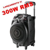 Caixa Amplificada 300w Rms Fm/usb/mp3 Maxprint 6011827