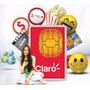 Sim Card Claro Prepago X 50 Unds Con 1000 4g Envio Gratis