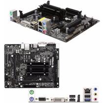Tarjeta Madre Asrock Q1900m + Procesador Quad-core J1900 Ccc