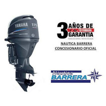 Motor Yamaha 115 Hp 4t Efi F115b Nueva Version Entega Ya