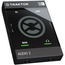 Interface Traktor Audio 2 Mk2 Native Instruments Para Djs