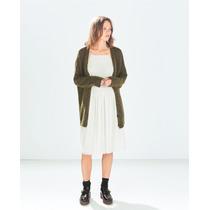 Vestido Zara Trf S/m Menta 026