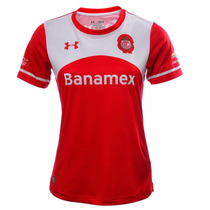Playera Jersey Toluca Local 15/16 Mujer Under Armour Ua536