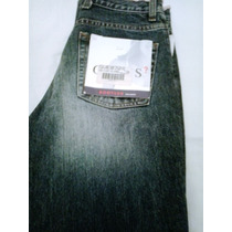 Pantalones Jeans Guess De Dama Abierto En La Bota Recta