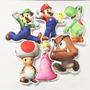 Kit Almofadas Super Marios Bros - 30cm - Familia