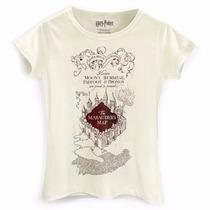 Camiseta Feminina Harry Potter The Marauder