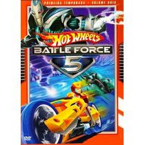 Dvd - Hotwheels Battle Force 5 - 1ª Temporada Vol. 2